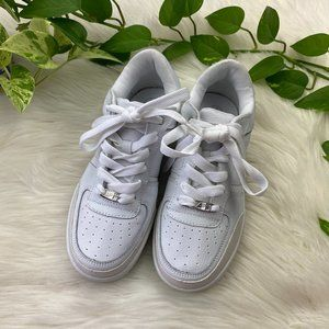 White Shoes Size 8 Sneakers